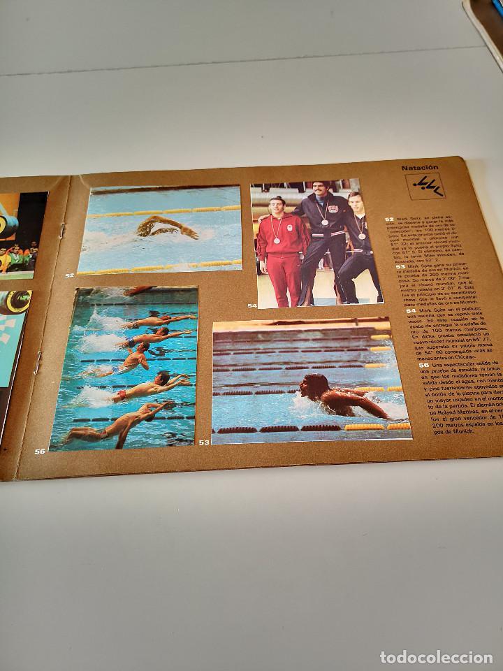 Coleccionismo deportivo: ALBUM DE CROMOS COMPLETO CAMPEONES OLÍMPICOS DEPORTES SALVAT PAMPLONA AÑO 1973 - Foto 18 - 287104218