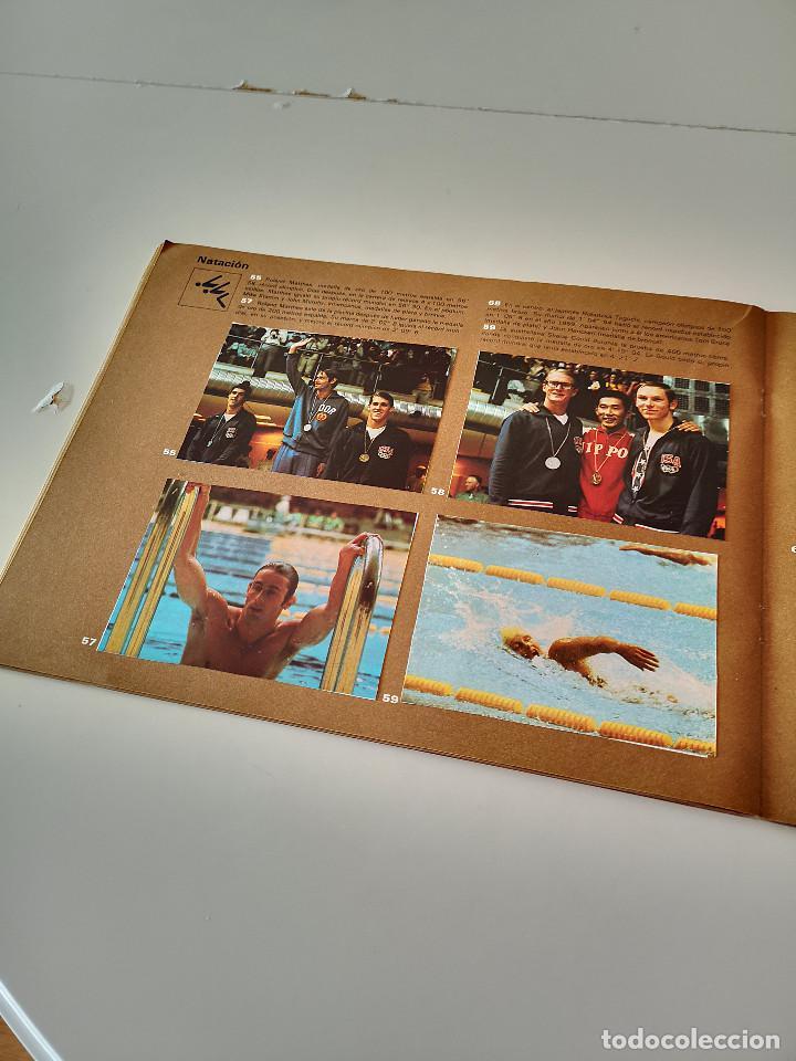 Coleccionismo deportivo: ALBUM DE CROMOS COMPLETO CAMPEONES OLÍMPICOS DEPORTES SALVAT PAMPLONA AÑO 1973 - Foto 19 - 287104218