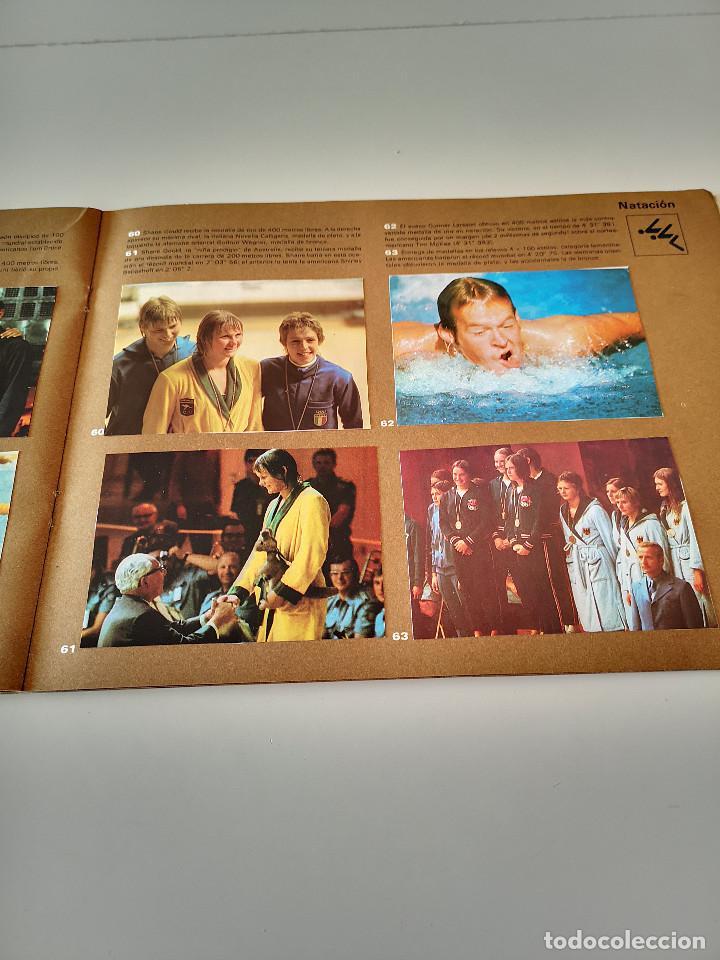 Coleccionismo deportivo: ALBUM DE CROMOS COMPLETO CAMPEONES OLÍMPICOS DEPORTES SALVAT PAMPLONA AÑO 1973 - Foto 20 - 287104218