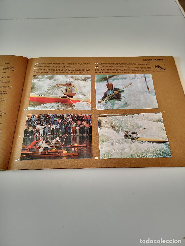 Coleccionismo deportivo: ALBUM DE CROMOS COMPLETO CAMPEONES OLÍMPICOS DEPORTES SALVAT PAMPLONA AÑO 1973 - Foto 22 - 287104218