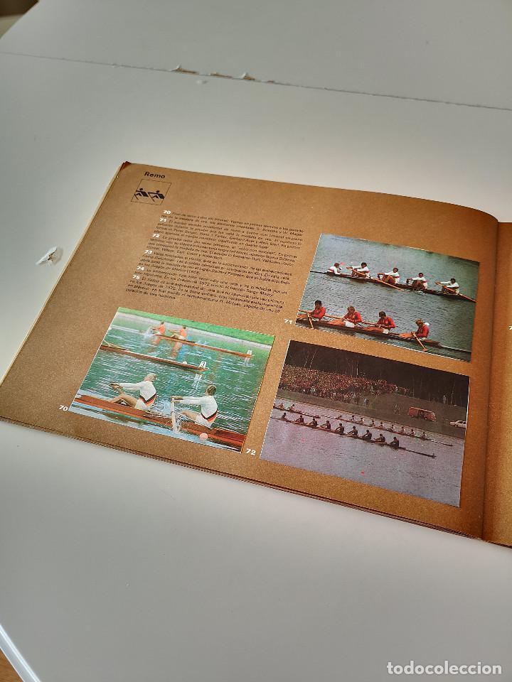 Coleccionismo deportivo: ALBUM DE CROMOS COMPLETO CAMPEONES OLÍMPICOS DEPORTES SALVAT PAMPLONA AÑO 1973 - Foto 23 - 287104218