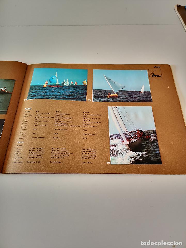 Coleccionismo deportivo: ALBUM DE CROMOS COMPLETO CAMPEONES OLÍMPICOS DEPORTES SALVAT PAMPLONA AÑO 1973 - Foto 24 - 287104218