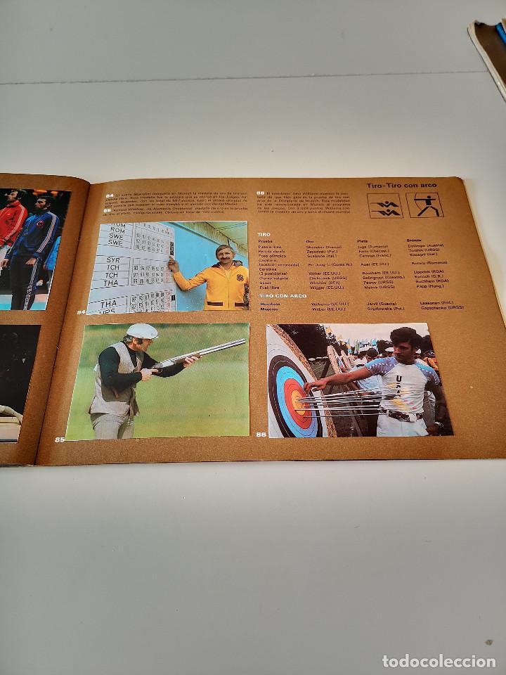 Coleccionismo deportivo: ALBUM DE CROMOS COMPLETO CAMPEONES OLÍMPICOS DEPORTES SALVAT PAMPLONA AÑO 1973 - Foto 28 - 287104218