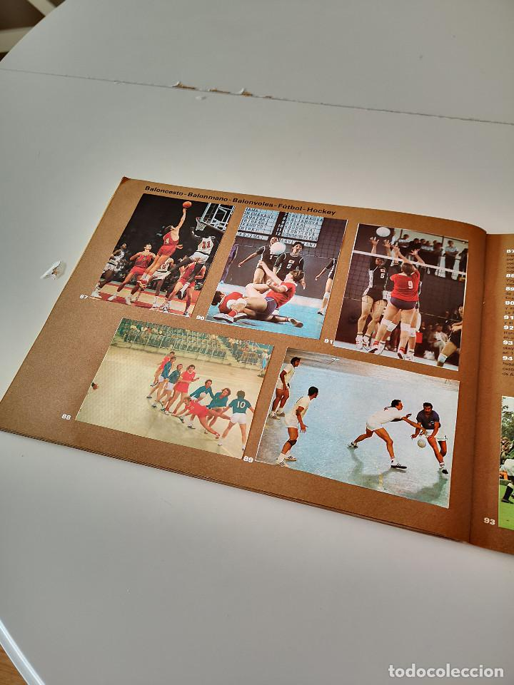 Coleccionismo deportivo: ALBUM DE CROMOS COMPLETO CAMPEONES OLÍMPICOS DEPORTES SALVAT PAMPLONA AÑO 1973 - Foto 29 - 287104218