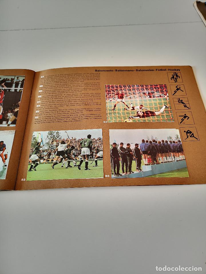 Coleccionismo deportivo: ALBUM DE CROMOS COMPLETO CAMPEONES OLÍMPICOS DEPORTES SALVAT PAMPLONA AÑO 1973 - Foto 30 - 287104218