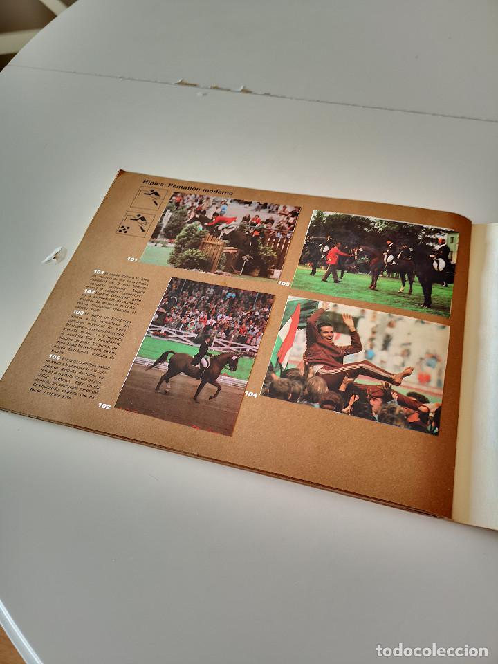 Coleccionismo deportivo: ALBUM DE CROMOS COMPLETO CAMPEONES OLÍMPICOS DEPORTES SALVAT PAMPLONA AÑO 1973 - Foto 33 - 287104218