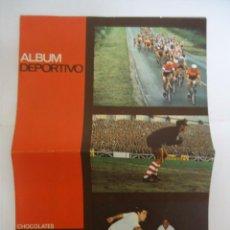 Coleccionismo deportivo: ALBUM VACIO DE CHOCOLATES LOYOLA , ALBUM DEPORTIVO. AÑO 1967. RARO. Lote 287128373