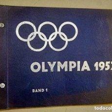 Coleccionismo deportivo: ALBUM COMPLETO DE LAS OLIMPIADAS DE OSLO Y HELSINKI DEL AÑO 1952.. Lote 287245293