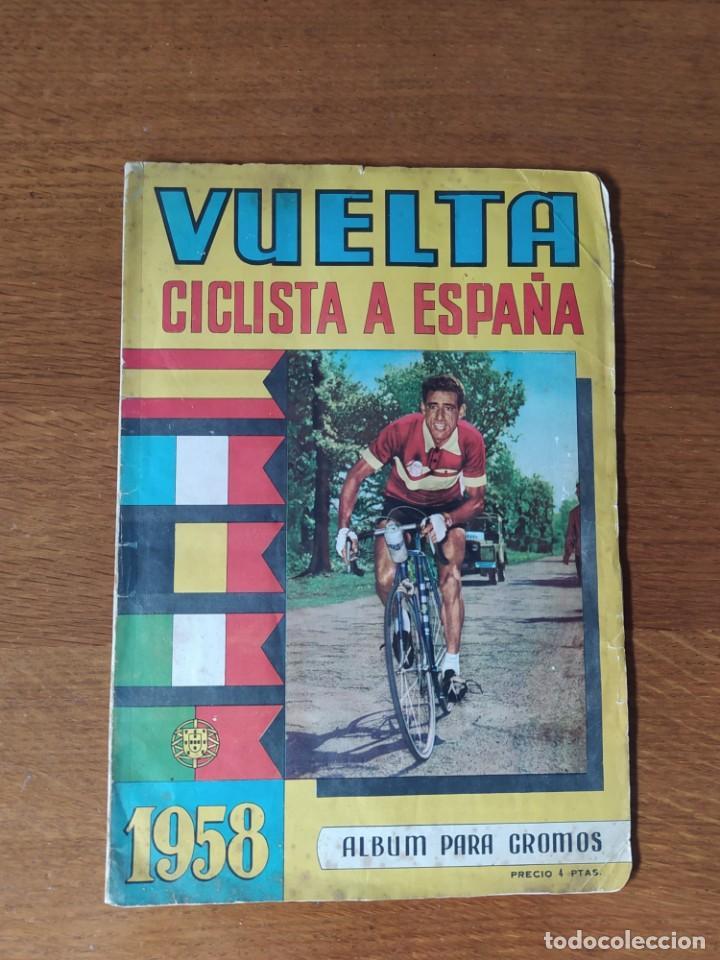 VUELTA CICLISTA 1958 FHER (Coleccionismo Deportivo - Álbumes otros Deportes)