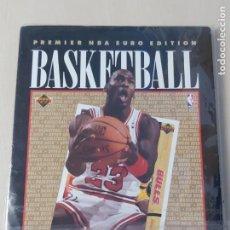 Coleccionismo deportivo: ALBUM NBA 91-92 UPPER DECK COMPLETO CON HOLOGRAMAS - MICHAEL JORDAN. Lote 287681923