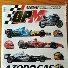 Coleccionismo deportivo: A TODO GAS '05 - ALBUM DE CROMOS COMPLETO - GP MARCA FORMULA 1 & MOTO GP.. Lote 287694488
