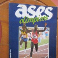 Coleccionismo deportivo: ASES OLÍMPICOS - ÁLBUM AS - AÑO 1988 - TIENE 31 CROMOS.. Lote 287943293