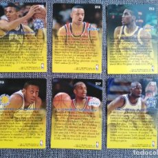 Coleccionismo deportivo: LOTE DE 6 CROMOS DE BASKET. NBA ROOKIE SENSATION FLEER 95-96 IMPRESOS EN U. S. A. Lote 288303693