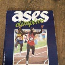 Coleccionismo deportivo: ÁLBUM DIARIO AS. ASES OLÍMPICOS COMPLETO. PLANCHA. Lote 290670493