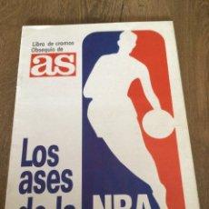 Coleccionismo deportivo: LOS ASES DE LA NBA. COMPLETO. INCREÍBLE ESTADO. PLANCHA. Lote 290670928