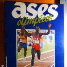 Coleccionismo deportivo: ASES OLIMPICOS ALBUM COMPLETO. Lote 291549083