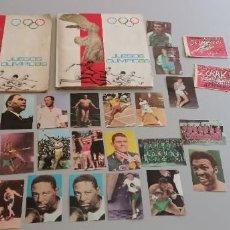 Coleccionismo deportivo: 2 ALBUMES JUEGOS OLÍMPICOS DIFUSORA DE CULTURA AÑOS 60. Lote 292141848