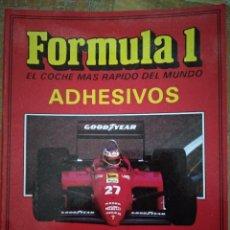 Coleccionismo deportivo: ÁLBUM CROMOS FÓRMULA 1 ADHESIVOS. AUTOMOTO. Lote 293653683