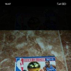 Coleccionismo deportivo: ALBUM NBA 12/13 COMPLETO Y EN PERFECTO ESTADO. Lote 293924258