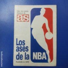 Coleccionismo deportivo: ALBUM DE CROMOS AS LOS ASES DE LA NBA - COMPLETO - EN BUEN ESTADO - INCLUYE CROMO DE MICHAEL JORDAN. Lote 296007463