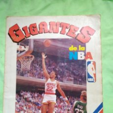 Coleccionismo deportivo: ALBUM DE CROMOS GIGANTES DE LA NBA COMPLETO ( MAGIC JOHNSON) 1987. Lote 296698113