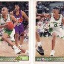 Coleccionismo deportivo: 2 CROMOS EQUIPO BUCKS-UPPER DECK 92/93. Lote 5653873