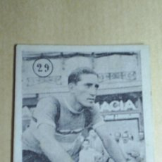 Coleccionismo deportivo: CROMOS CICLISMO MUY ANTIGUOS -Nº29 ANDRES MARTINEZ. Lote 6669360