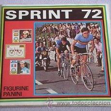 Coleccionismo deportivo: SPRINT 72 PANINI CICLISMO MATERIAL DE 1º ALTO VOLTAJE TOUR DE FRANCIA ALBUM CROMOS. Lote 178310563