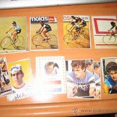 Coleccionismo deportivo: 21 CROMOS DE CILISMO CHOCOLATES HUESO 1€ UNIDAD. Lote 49157425