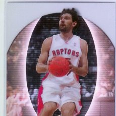 Coleccionismo deportivo: TRADING CARD CROMO 2006/07 TOPPS FINEST #97 - JORGE GARBAJOSA - ROOKIE - TORONTO REAL MADRID - ACB. Lote 32011339