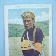 Coleccionismo deportivo: CHOCOLATE AMATLLER-CICLISMO N.10-TEODORO MONTEYS-AÑOS 30 . Lote 10787322
