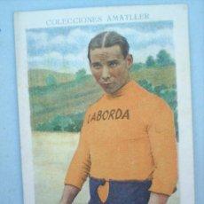 Coleccionismo deportivo: CHOCOLATE AMATLLER-CICLISMO N.2-MIGUEL BOVER-AÑOS 30. Lote 10787381