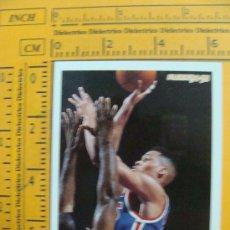 Coleccionismo deportivo: FICHA DE BALONCESTO. PJ BROWN. 145. NEW JERSEY NETS. NBA. TEMPORADA 1994 - 1995. FLEER. AL . Lote 11227902
