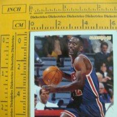 Coleccionismo deportivo: FICHA DE BALONCESTO. SLEEPY FLOYD. 149. NEW JERSEY NETS. NBA. TEMPORADA 1994 - 1995. FLEER. AL . Lote 11227910