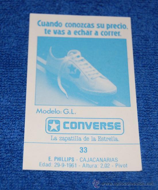 BALONCESTO - CONVERSE - J.MERCHANTE LIGA 88 (Coleccionismo Deportivo - Cromos otros Deportes)