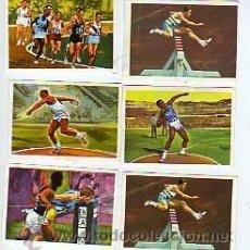 Coleccionismo deportivo: CROMOS NESTLE -EL DEPORTE VISTO POR SUS ASES- ATLETISMO - UNIDAD 0'70 EUROS. Lote 91809939