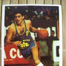 Coleccionismo deportivo: CROMO ADHESIVO BALONCESTO . LLANO . CAJABILBAO. Lote 13562361