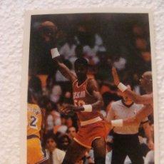 Coleccionismo deportivo: CROMO DE BALONCESTO. NBA. 163 ROLP SAMPSON. HOUSTON ROCKETS. TEMPORADA 1987 1988. CONVERSE. . Lote 15865237
