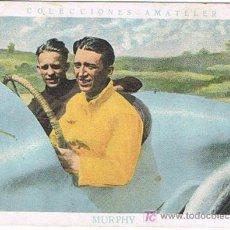 Coleccionismo deportivo: CROMOS DE AUTOMOVILISMO, COLECCIONES AMATLLER, CROMO N º 8, MURPHY. Lote 18898009
