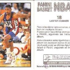 Coleccionismo deportivo: 190 CROMOS BALONCESTO PANINI BASKET NBA 91. SE VENDEN SUELTOS.¡PREGUNTAD VUESTRAS FALTAS! 22/12/201. Lote 26365998