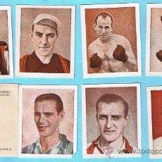 Coleccionismo deportivo: LOTE DE CROMOS. CROMOS SUELTOS; 2,00 €. ALBUM FOTO PELICULA. BOXEO, CICLISMO, FUTBOL.. Lote 49389994