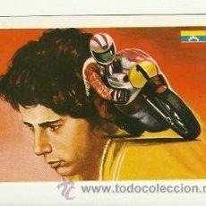 Coleccionismo deportivo: Nº41 CECCOTO MOTOCICLISMO -ASES MUNDIALES DEL DEPORTE QUELCOM 1979- CROMOS . Lote 30797610