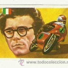 Coleccionismo deportivo: Nº167 PASOLINI MOTOCICLISMO -ASES MUNDIALES DEL DEPORTE QUELCOM 1979- CROMOS . Lote 30824824