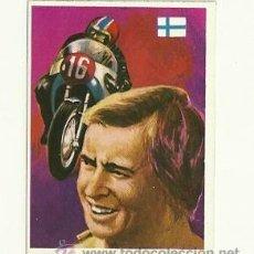 Coleccionismo deportivo: Nº203 SAARINEN MOTOCICLISMO -ASES MUNDIALES DEL DEPORTE QUELCOM 1979- CROMOS . Lote 30825160