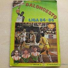 Coleccionismo deportivo: CROMOS SUELTOS BALONCESTO LIGA 84-85. CLESA.CONSULTE SUS FALTAS. Lote 41259553