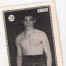 Coleccionismo deportivo: CROMO DE BOXEO: MANDO GUERRA. Lote 31114636