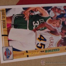 Coleccionismo deportivo: 30 LARRY BIRD BOSTON CELTICS NBA CARD NBA UPPER DECK 1991. Lote 31190619