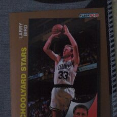 Coleccionismo deportivo: 256 LARRY BIRD BOSTON CELTICS NBA CARD FLEER 1992-93. Lote 31190743