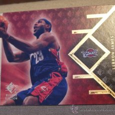 Coleccionismo deportivo - 9 LEBRON JAMES CLEVELAND CAVALIERS NBA CARD UPPER DECK SP ROOKIE EDITION 2007-08 - 31191477