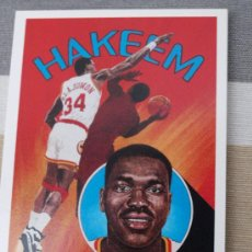 Coleccionismo deportivo: 92 HAKEEM OLAJUWON HOUSTON ROCKETS TRADING CARD NBA UPPER DECK 1991. Lote 235361930